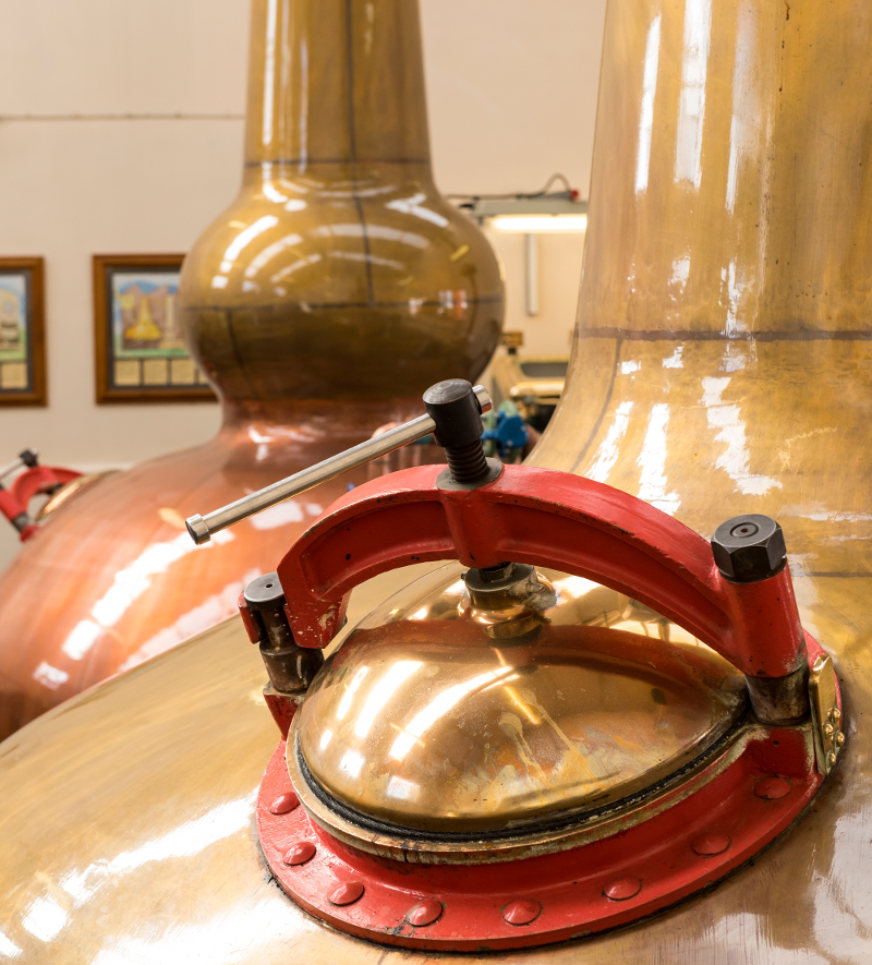 Benromach Distillery Stills 2016 8